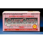 CardiCare Enteric Coated Aspirin (12