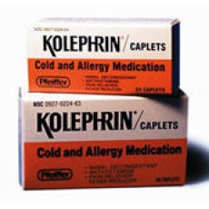 Kolephrin Caplets (24's or 36's)